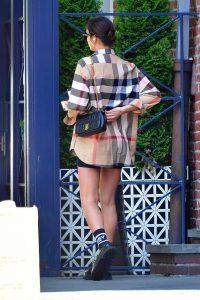 Irina Shayk in a Black Shoes