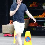 Paul Mescal in a Black Tee Smokes a Sigarette During His Daily Relaxing Stroll in London 05/24/2020