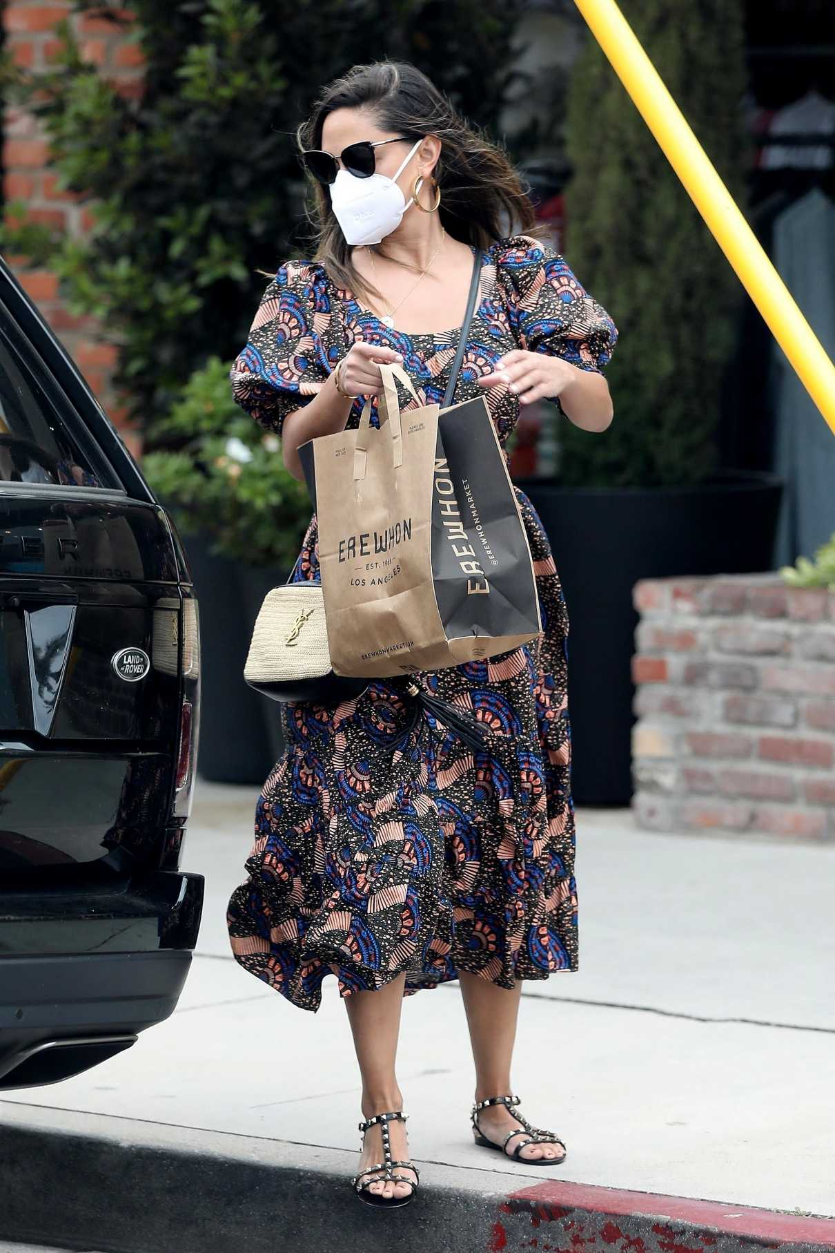 Vanessa Lachey in a Protective Mask