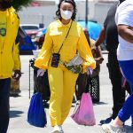Blac Chyna in a Yellow Jumpsuit Was Seen Out in New York 06/07/2020