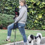 Helen Hunt in a Black Flip-Flops