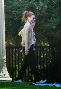 Kate Mara in a White Tee
