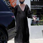 Katherine Schwarzenegger in a Black Dress
