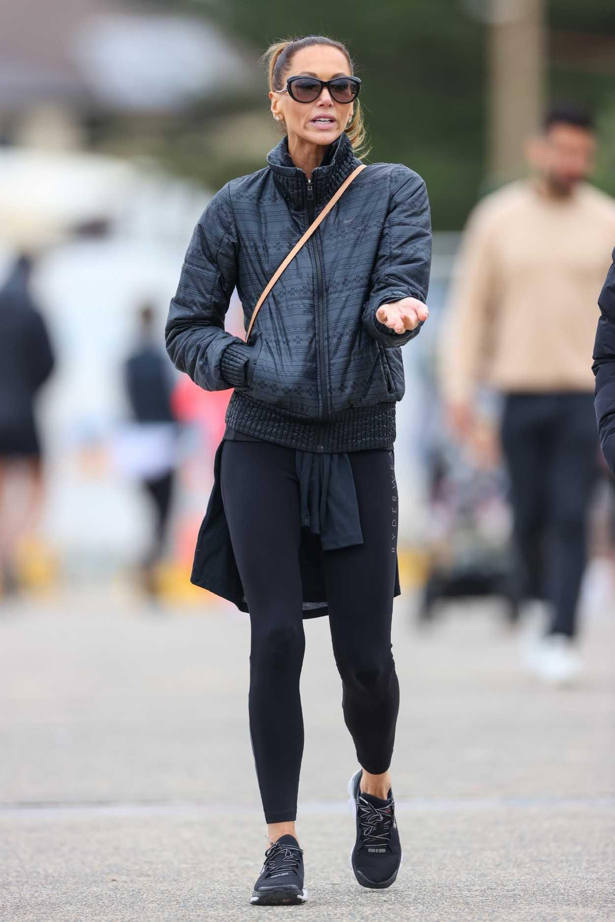 Kyly Clarke in a Black Jacket Was Seen Out in Sydney 06/27 ...