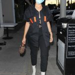Lala Kent in a Protective Mask