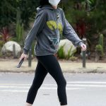 Lisa Rinna in a Gray Hoody Was Seen Out in Beverly Hills 06/05/2020