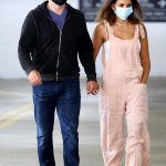 Luciana Barroso in a Protective Mask