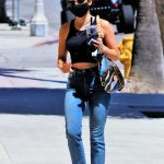 Lucy Hale in a Black Top