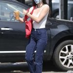 Scout Willis in a Protective Mask Was Seen Out in Los Feliz 06/24/2020
