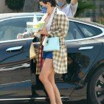 Alia Shawkat in a Plaid Blazer