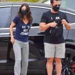 Courteney Cox in a Gray Sweatpants Was Seen Out with a Mystery Man in Malibu 06/28/2020