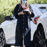 Dakota Fanning in a Protective Mask Was Seen Out in Los Angeles 07/01/2020