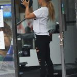 Emma Slater Attends the F45 Training in Los Angeles 07/01/2020