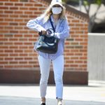 Francesca Eastwood in a Protective Mask Was Seen Out in Los Angeles 07/10/2020