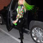 Iggy Azalea Shows off Her Neon Green Hair Out in New York 07/20/2020
