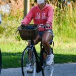 Jennifer Lopez in a Protective Mask