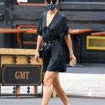 Katie Holmes in a Protective Mask Was Seen Out in NYC 07/15/2020