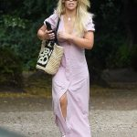 Katie Piper in a White Sneakers Was Seen Out in North London 07/29/2020