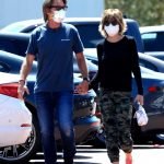 Lisa Rinna in a Protective Mask Was Seen Out with Harry Hamlin in Malibu 07/25/2020