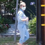 Sarah Michelle Gellar in a Protective Mask Was Seen Out in Brentwood 07/06/2020