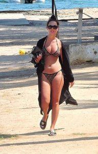 Yazmin Oukhellou in Bikini