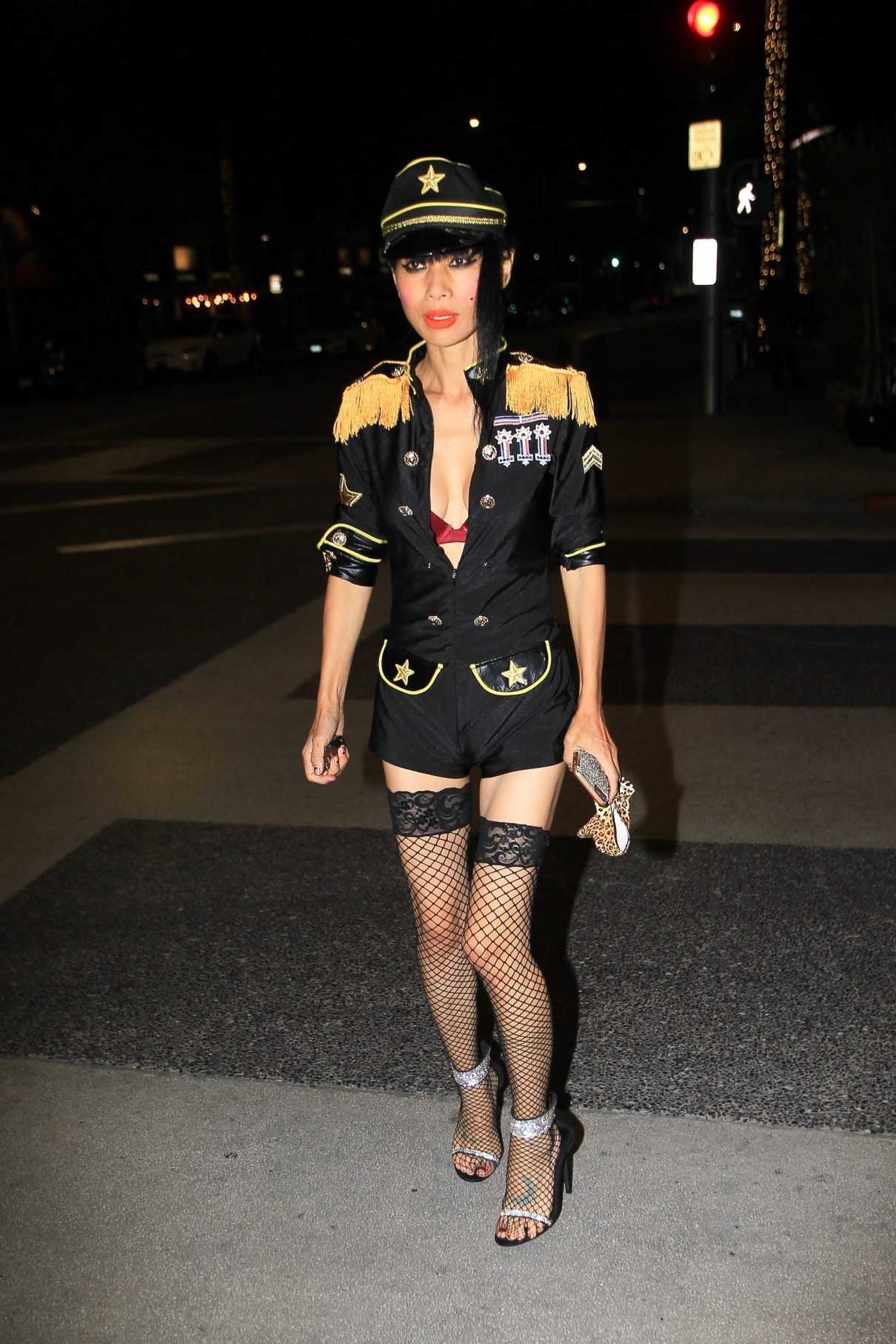 Bai Ling in a Custom Uniform