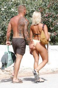 Gabby Allen in Bikini