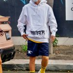 Justin Bieber in a White Hoody Was Seen Waiting in Line for a Table Out with Hailey Bieber in West Hollywood 08/17/2020