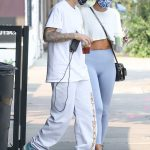 Justin Bieber in a White Tee