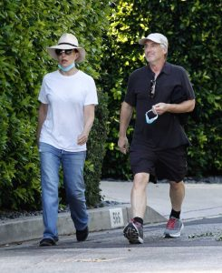 Madeleine Stowe in a White Tee