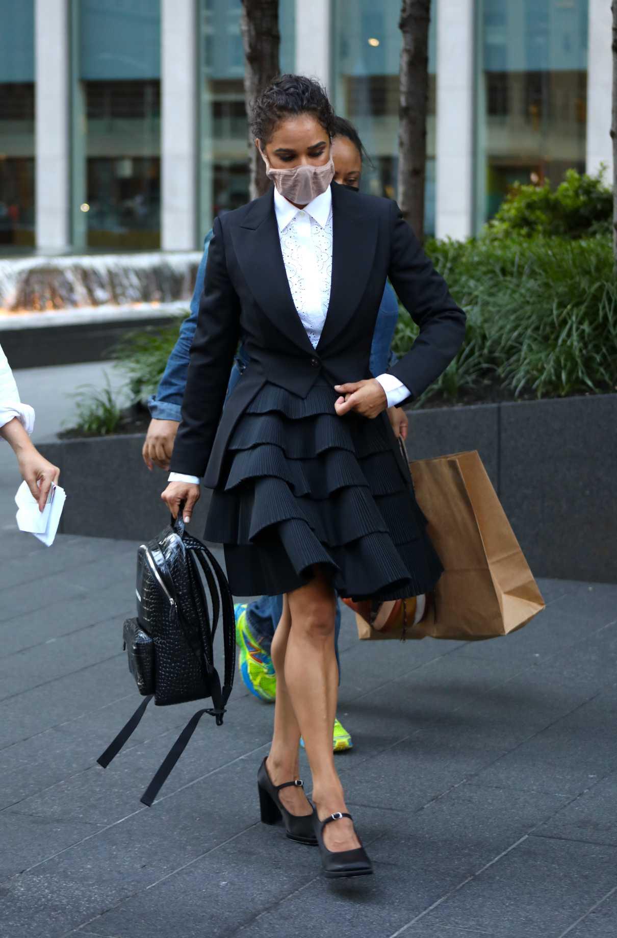 Misty Copeland in a Black Blazer