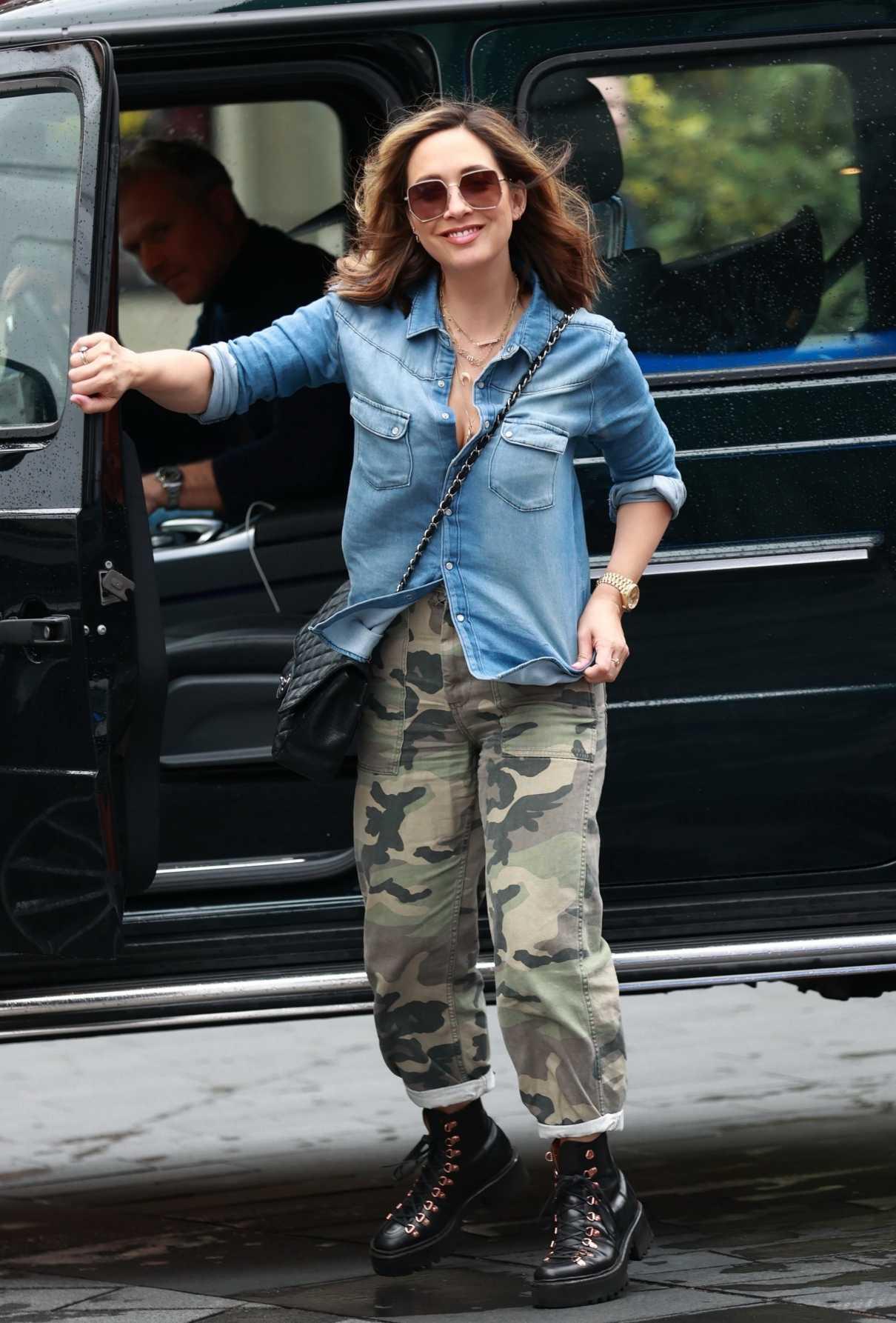 Myleene Klass in a Camo Pants