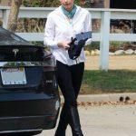 Amber Heard in a White Shirt