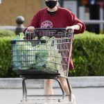 Ariel Winter in a Black Protective Mask Goes Grocery Shopping in Los Angeles 09/09/2020