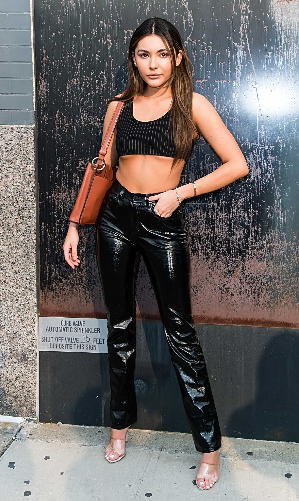 Atiana De La Hoya in a Black Pants