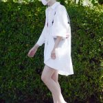 Dakota Fanning in a White Shirt Was Seen Out in Los Angeles 09/25/2020