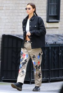 Irina Shayk in a Black Blazer