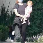 Kate Mara in a Protective Mask Was Seen on a Coffee Run with Her Baby in Los Feliz 09/25/2020