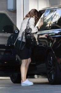 Katharine McPhee in a White Sneakers