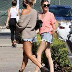 Sofia Richie in a Daisy Duke Shorts