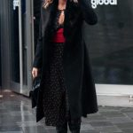 Amanda Holden Leaves the Global Studios in London 10/02/2020