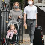 Hilary Duff in a Protective Mask Was Seen Out with Matthew Koma in New York 10/24/2020