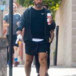 Jude Law in a Black Flip-Flops Was Seen Out in London 10/26/2020