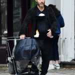 Jude Law Was Seen with His Newborn Baby During a Stroll in London 10/14/2020
