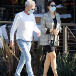 Katharine McPhee in a Protective Mask Goes Shopping in Los Angeles 10/21/2020