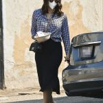 Katharine McPhee in a Protective Mask Was Seen Out in Los Angeles 10/04/2020