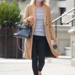 Nicky Hilton in a Beige Coat Was Seen Out in New York City 10/06/2020