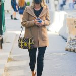 Nicky Hilton in a Black Protective Mask Was Seen Out in New York 10/10/2020