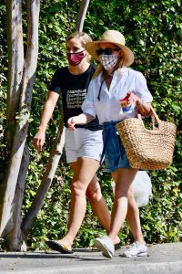 Reese Witherspoon in a Straw Hat