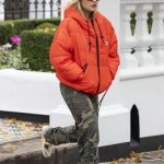 Rita Ora in a Camo Pants Leaves Her Home in London 10/12/2020